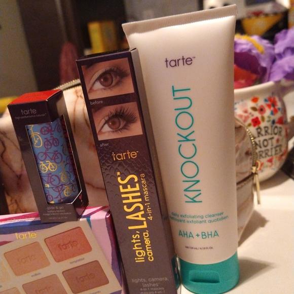 Beautiful Tarte Bundle New! Everything you need 💋